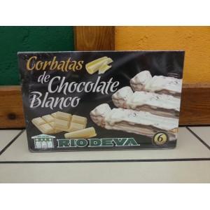 CORBATAS DE CHOCOLATE BLANCO RÍO DEVA
