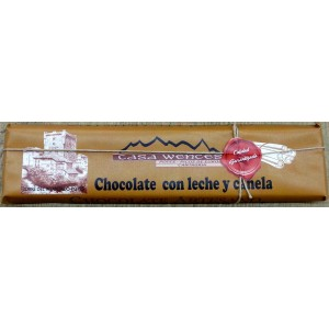 CHOCOLATE CON LECHE Y CANELA CASA WENCES 300gr.