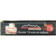 CHOCOLATE 60%CACAO CON AVELLANAS CASA WENCES 300gr.