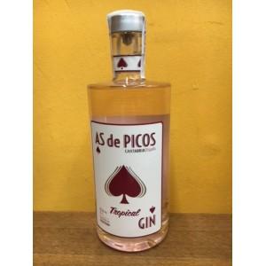 GIN AS DE PICOS TROPICAL 0,70CL.